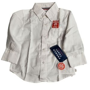 French Toast Boys 3T Oxford Long Sleeve Shirt